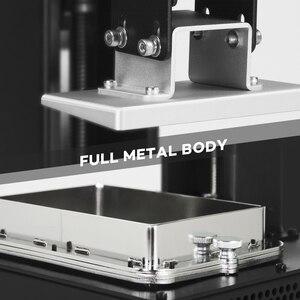 Image 4 - LONGER ORANGE 10 LCD SLA 3D מדפסת ערכת עם שרף מטריקס UV תאורה של שרף 3D מדפסת מלא מתכת גוף 3D הדפסת שרף מדפסת