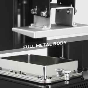 Image 4 - LONGER ORANGE 10 LCD SLA zestaw do drukarka 3D z żywicą Matrix oświetlenie UV żywicy drukarki 3D w całości z metalu ciała 3D druku żywicy drukarki Printer 3D UV Printer
