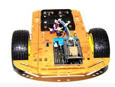 ESP8266 WiFi intelligent wireless remote control car free source code NodeMCU Lua 2 wd ESP