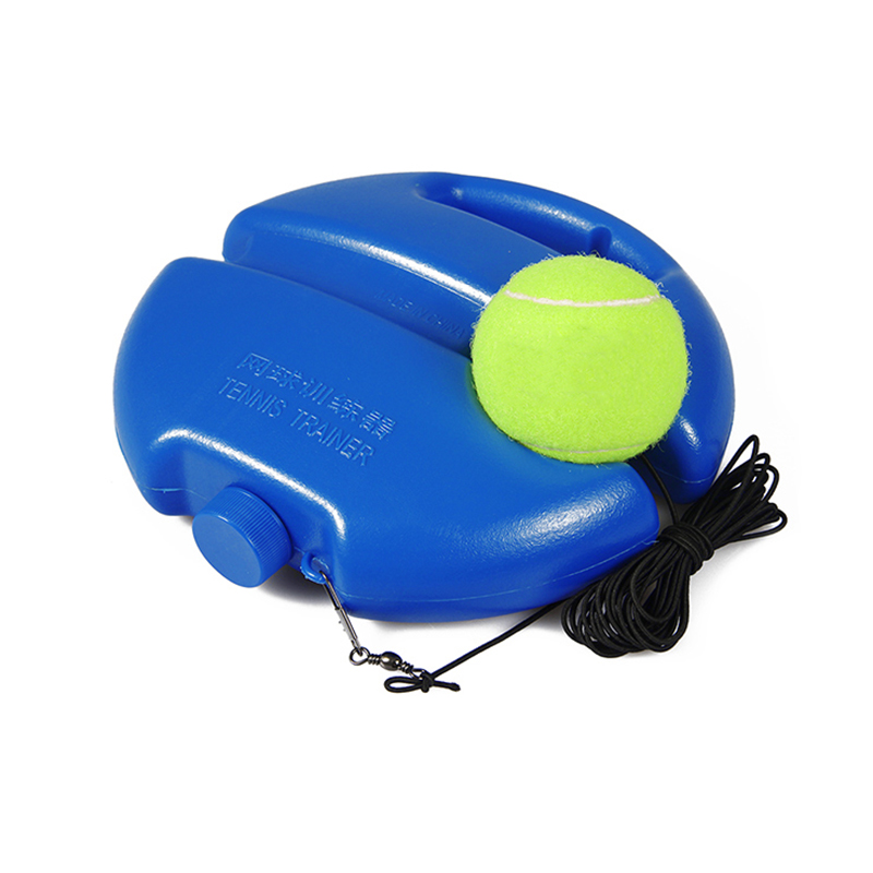 Self-Study Tennis Trainer and Rebound Ball With Exercise Baseboard as Tennis Training Tool