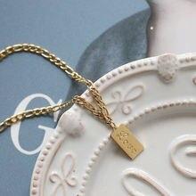 Amaiyllis 18k золотые подвески love ожерелье до ключиц Подвески