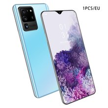 Global Version S20 Pro 2GB+16GB Smartphone 6.6 Inch Water Drop Large Screen 4 Core 3g Network Mobile Phone Face Recognition Mobi