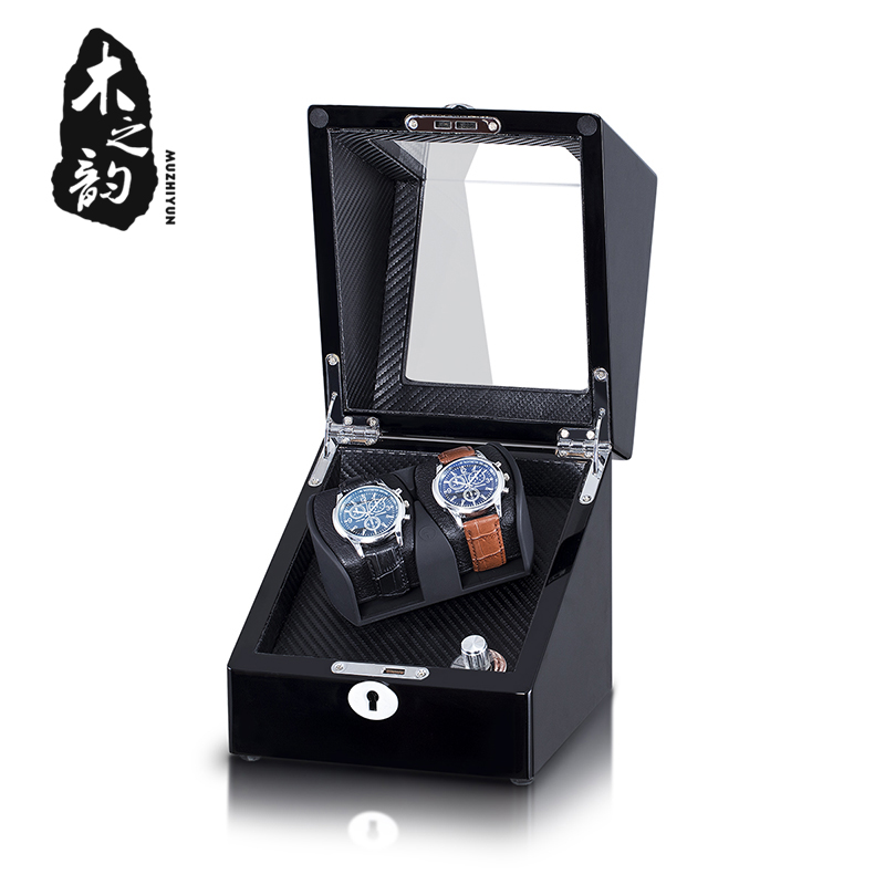Automatic Watch Winder Holder Display For Mechanical Watch Mini Motor Shaker Winding Box Jewelry High Class Watches Box 2019 New
