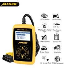 Автомобильный считыватель кодов autool cs320 obd 2 can bus цифровой
