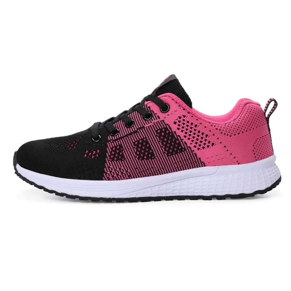 Dành Cho Nữ Thời Trang Mùa Đông Ấm Lưới Sneakers Nữ Đơn Giản Thoải Cho Nữ Slip On Sang Trọng Buộc Dây Giày #1028