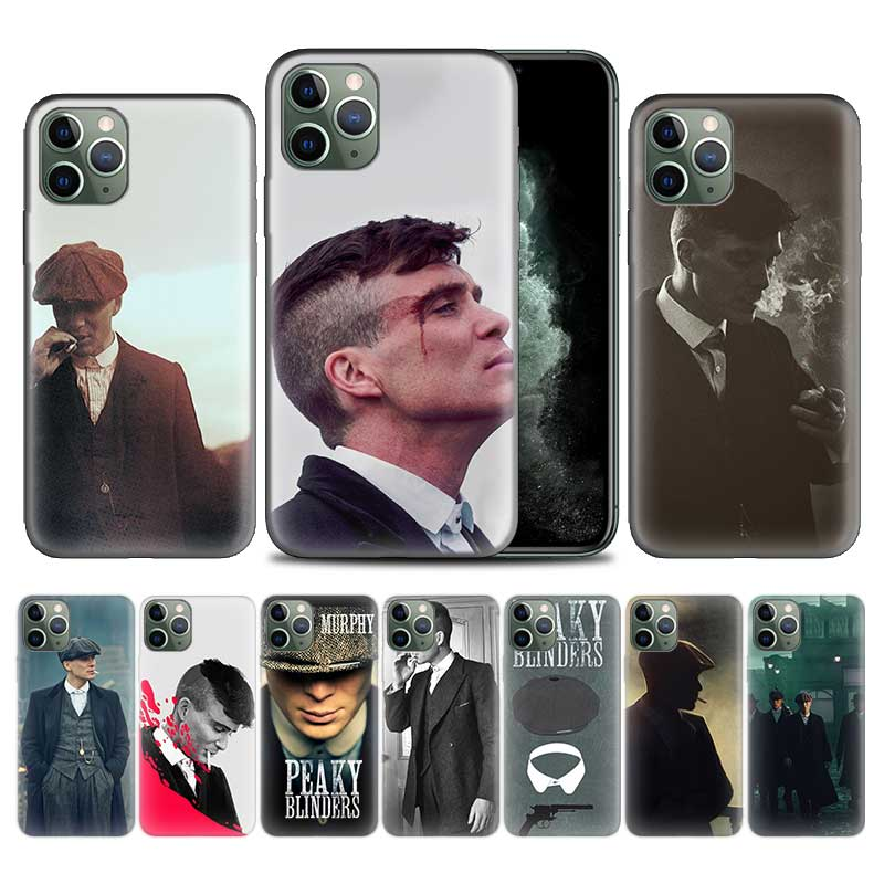 Peaky Blinders Man Case for Apple iPhone 11 Pro XS Max XR X 7 8 6 6S Plus 5 5S SE 12 Mini Soft TPU Phone Cover Coque