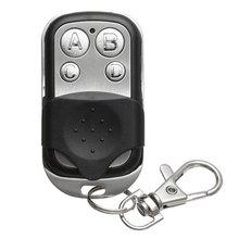 433 МГц беспроводной копирование пульт управление металл ABCD четыре кнопка гараж дверь универсальный +копия код пульт управление