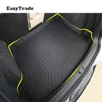 Car Rubber Mats Pad Liner Cargo Mat Tray Trunk Floor Protector Mats For Mitsubishi Pajero Sport Accessories 2012 2019