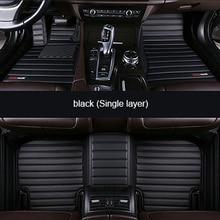цена на Custom leather car floor mat For Chevrolet cruze aveo captiva lacetti Sail Malibu Automatic TRAX LOVA car accessorie carpet