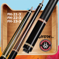 HOW FH 21/22/23-3 Billiard Pool Cue 13.1mm M Tip AP Shaft Radial Joint Handmade Irish Linen High-end Series Stick Kit