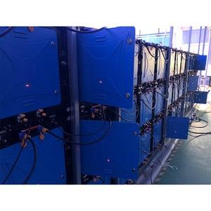 Image 5 - Led לוח מודעות LED פנל P6 SMD rgb 576x576mm למות יצוק אלומיניום קבינט השכרה עבור חיצוני עמיד למים פרסום
