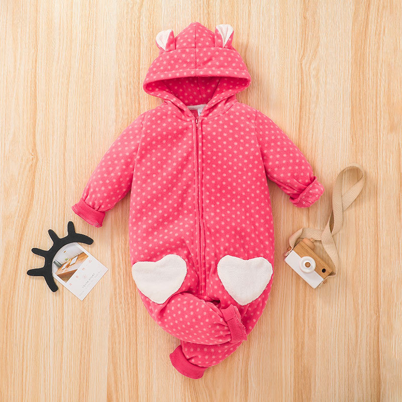 Macacão de manga longa para bebês, pijamas