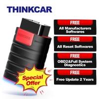 THINKCAR ThinkDiag OBD2 Scanner OBD 2 Code Reader All System Car Diagnostics 15 Reset Think Diag PK X431 Easydiag 3.0 AP200 Golo