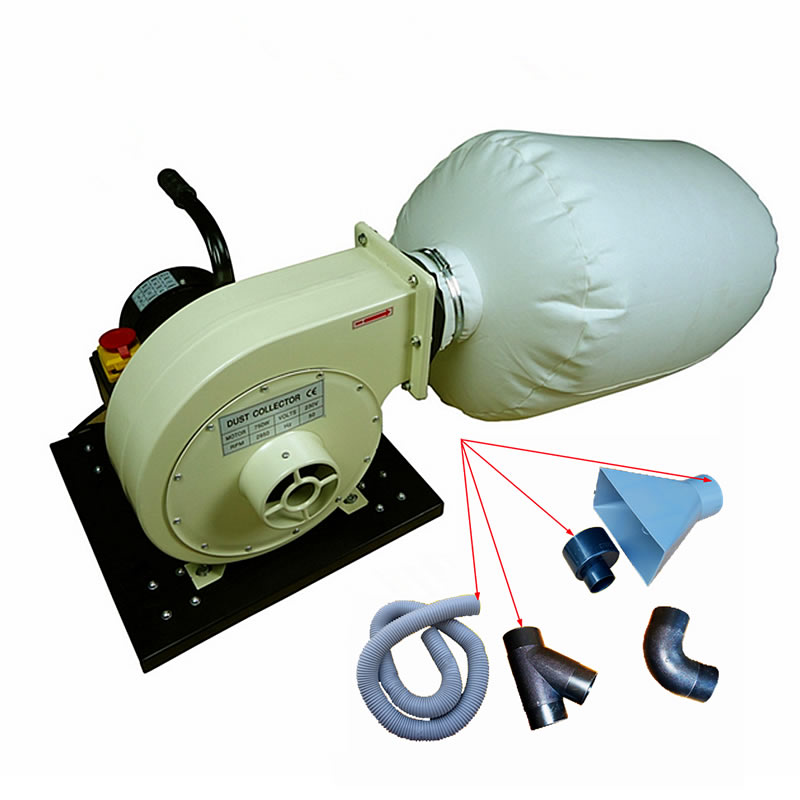 Mini Woodworking Vacuum Cleaner Dust Collector Equipment Industrial Machinery For CNC Router Milling Drilling Machine