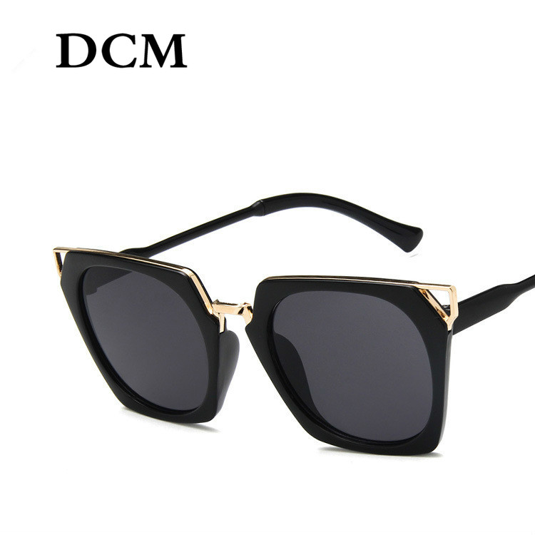 DCM Newest Hot Vintage Oversized Square Sunglasses Women Luxury Brand Fashion Men Sun Glasses Oculos De Sol Gafas UV400