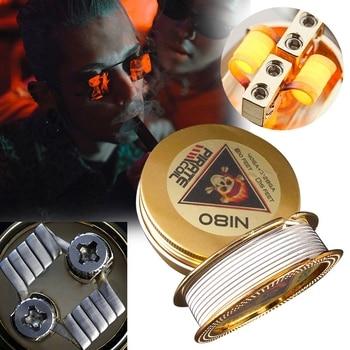 PIRATE SPULE Mode Zubehör Ni80 Heizung Draht Pirate 3 Core Clapton Phantasie Heizung Draht für Elektronische Zigarette 3m 40GA + 3*28