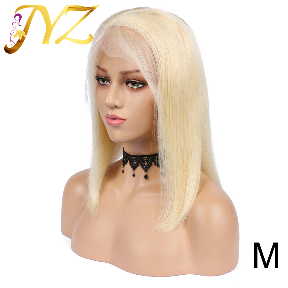 Glueless 613 Blonde 13x4 Lace Front Human Hair Wigs Brazilian Straight Lace Front Wig Pre Plucked Middle Ratio Remy Lace Wigs