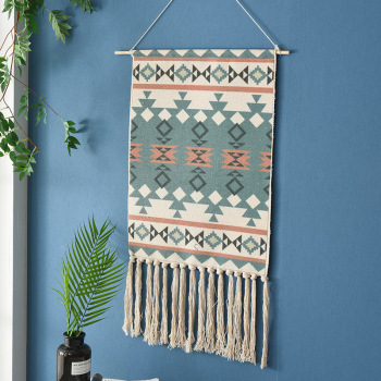 Tassel Bohemian Macrame Woven Wall Hanging Handmade Knitting Tapestry Home Office Wall Decoration Tapestry Wall Hanging hot sale large adventure theme wall hanging tapestry home decoration wall tapestry tapiz pared 1750mm 1750mm