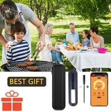 Vlees Thermometer Bluetooth Draadloze Digitale Keuken Voedsel Koken Oven Grill Roker Bbq Bluetooth Verbinding Waterdicht Best Gift