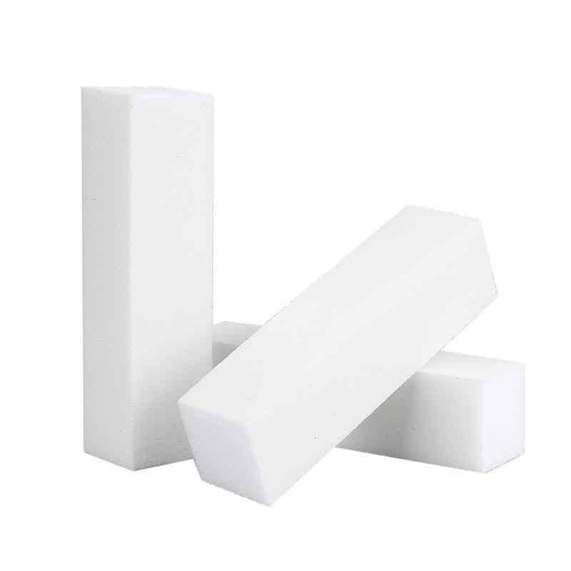 ใหม่สีขาวเล็บบัฟเฟอร์Sanding BLOCK Buffingขัดเล็บแฟ้มบัฟเฟอร์Pedicure Professionalเล็บเครื่องมือ