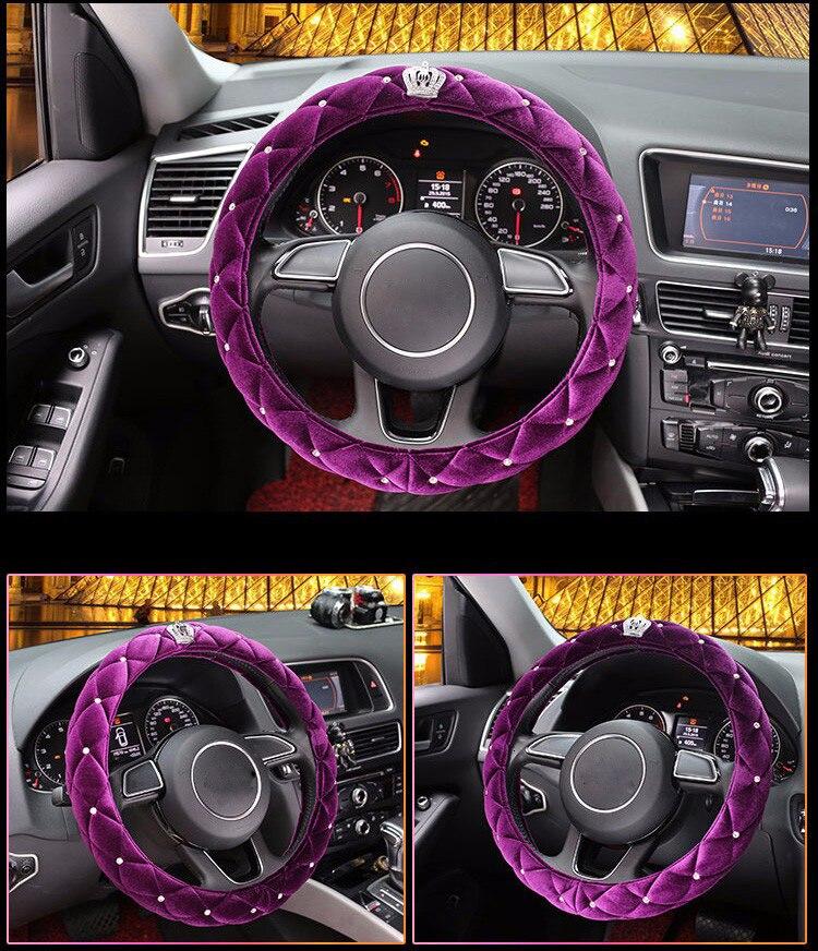 steering wheel cover 30