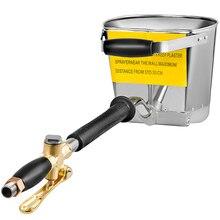 Newest Cement Mortar Sprayer Hopper 4 Jet Paint Wall Concrete Tool Portable Stucco Spray