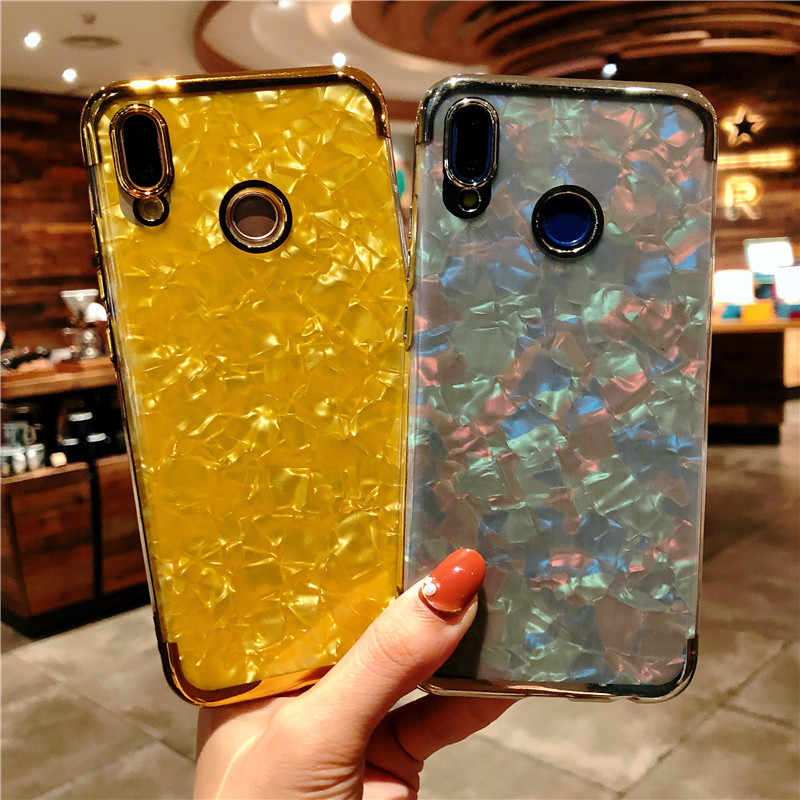 Glitter Marble Plating TPU Case For Samsung Galaxy A20 A10 A10E A20E A30 A40 A40S A50 A50S A60 A70 M10 M20 M30 Cover Phone Cases