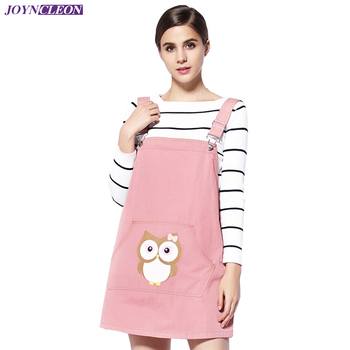 Direct selling electromagnetic radiation protective cute cartoon maternity clothes EMF shielding owl pattern metal fiber dress