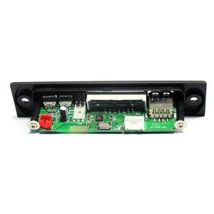 Image 5 - MP3 WMA WAV Drahtlose Bluetooth Decoder Board USB AUX 3,5 MM Auto Audio MP3 Player Modul TF FM Decoder Board mit Fernbedienung Für Auto