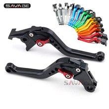 Levier de frein d'embrayage court, réglable, pour SUZUKI GSF 650 1200 1250 Bandit GSX 650F GSX650F GSX1250FA GSX1400