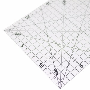 1 Pc 30x15cm Acrylic Patchwork Aligned Ruler Transparent Drawing Ruler Office & School Sewing Measuring Supplies