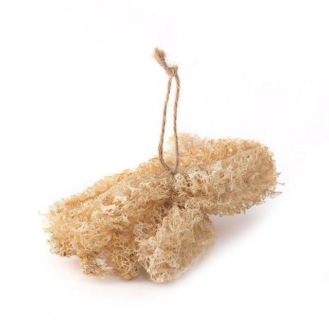 5Pcs/Set Natural Loofah Sponge Kitchen Cleaning Brush Dish Scrubber Washing Tool 3