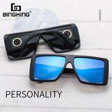Bingking Oversized Shield Sunglasses for Women 2020 Luxury B
