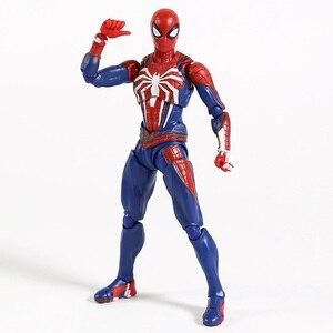 Image 3 - Shfスパイダーマン帰郷pvcクモモデルアクションフィギュア無限大戦争モデルコレクションのおもちゃボーイギフト