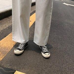Image 5 - Jeans Vrouwen Losse Hoge Taille Leisure Volledige Lengte Wijde Pijpen Jean Alle Match Koreaanse Stijl Eenvoudige Womens Trendy harajuku Dagelijkse Chic