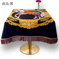 2019 New Arrivals 150x150 cm Square Decorative Luxury Tablecloth Home Dinner table cloth Tea Table Covers Table Spread