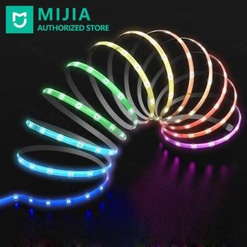 Xiaomi EZVALO Smart Strips Light Colorful RGB Light Beads LED Strip Intelligent Remote Control 2m Basic Version for Room Decor