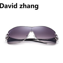 1129 European and American retro diamond Sunglasses