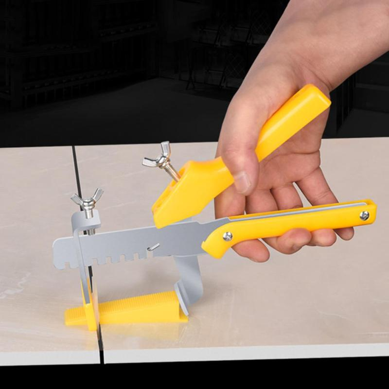 Locator Wall Tile Leveling Pliers System Improving Installation Speed Of Tiles Leveler Plastic Locator Spacers 23X12X9MM