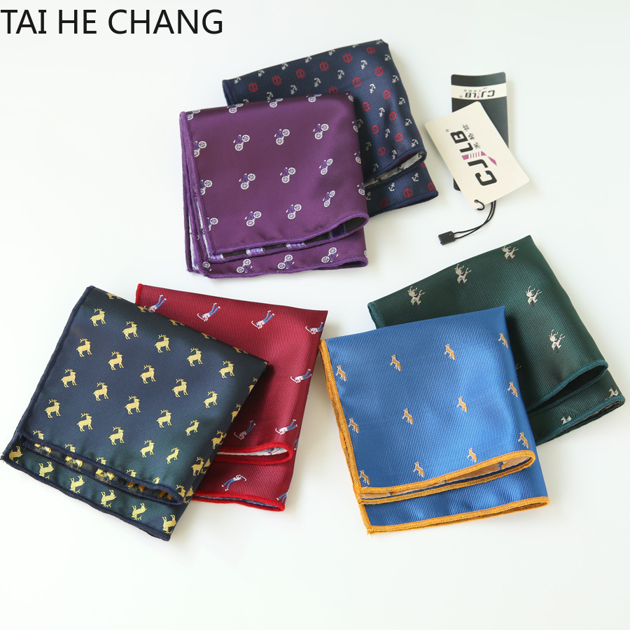 100pcs/lot 30colors Can Choice New Korean Fashion Designer High Quality Pocket Square Handkerchief Men's Business Suit Pocket
