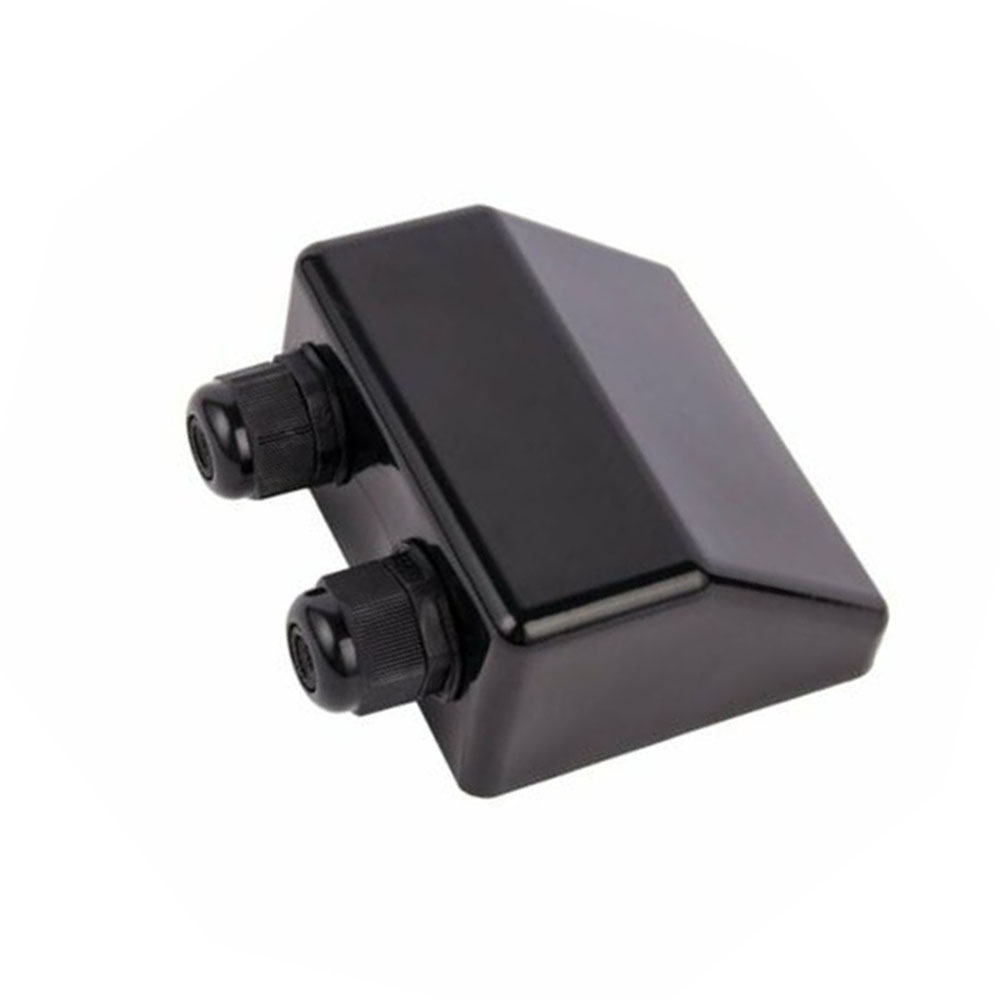 1pc Black Cable Entry Gland Household Mount UV Resistant Roof Electrical Equipments And Supplies For Renogy Solar Panels