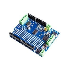 Официальный IIC I2C TB6612 Mosfet шаговый двигатель PCA9685 ШИМ Серводвигатель щит V2 для Arduino робота PWM Uno Mega R3 Замена L293D