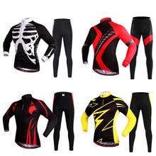 Cycling-Jersey High-Quality Motorcycle-Shirts Long-Sleeve New Winter MTB WOSAWE BC472