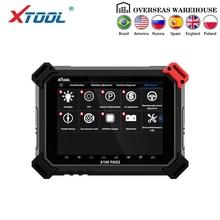 X100 PAD2 OBD2 авто ключ программист одометр коррекция инструмент считыватель кода автомобиля диагностический инструмент со специальной функцией обновление онлайн