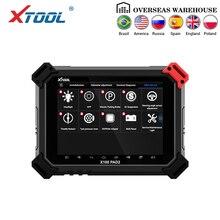 X100 PAD2 OBD2 Auto klucz programujący narzędzie do korekcji przebiegu czytnik kodów narzędzie diagnostyczne do samochodów ze specjalną aktualizacją funkcji online