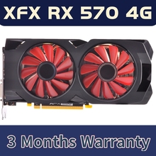 Video-Card GPU Used 256bit 470 Xfx Radeon Rx Amd Rx 570 Gddr5 4gb