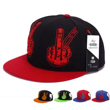 2020 męskie czapki Hip-Hop moda czapki dla mężczyzn Gorras czapka do koszykówki Trend czapki baseballowe czapka hiphopowa płaskie czapki z daszkiem czapki dla mężczyzn czarny tanie i dobre opinie HLM-X-003 Hip Hop Czapki Regulowany Cartoon Poliester Red Blue Black 55-60cm Hip-hop cap Hip Hop Cap street cap