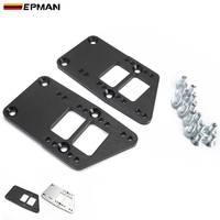 Epman boleto de alumínio montagem do motor adaptador placas boleto alumínio para conversão ls swap conversão ls1 epeml1036ls Suporte do motor     -