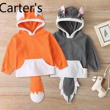Carter's Cute Sweatshirt Girls Infant Hoodie Top Toddler Boy Clothes Baby Sweatshirt Fall fashion and cute Baby Boy Winter Shirt