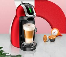 Nescafe Dolce Gusto household Capsule Coffee Machine Home Fully Automatic Office Genio Electric drip cafe maker Auto red diy цена